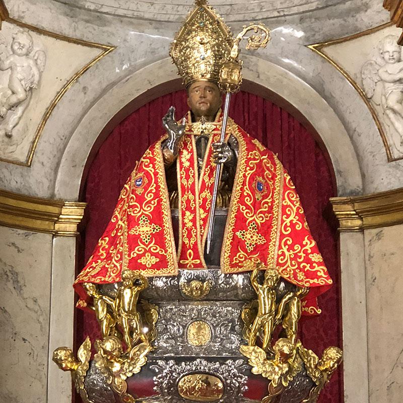 San Fermín, Santo de las fiestas de Pamplona.