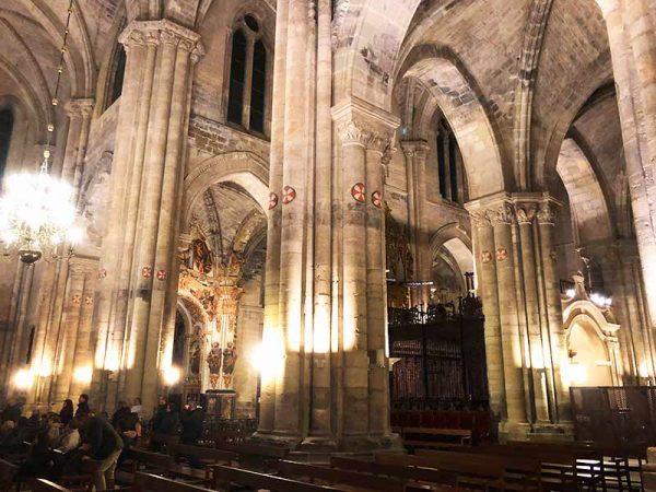 Catedral de Tudela: Visita nocturna.