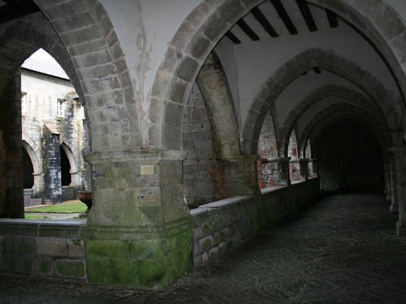 Interior del claustro.