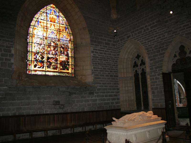 Sepulcro de Sancho VII el Fuerte