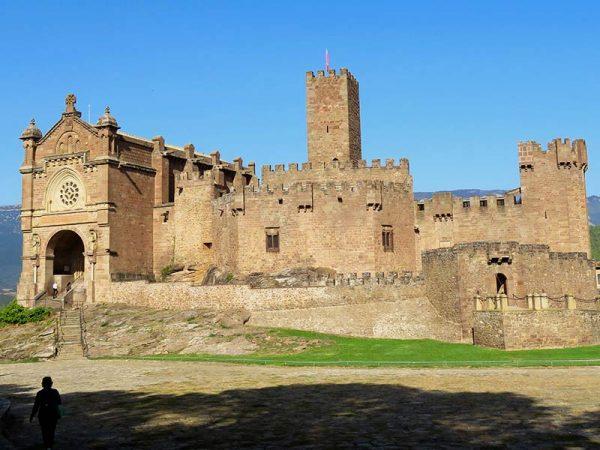 Castillo de Javier: Exteriores.