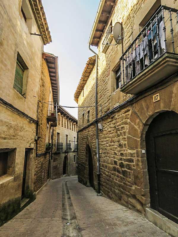 San Martín de Unx: Callejeando.