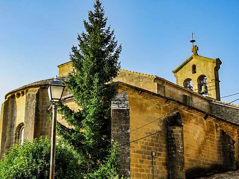 San Martín de Unx: Iglesia de San Martín de Tours.