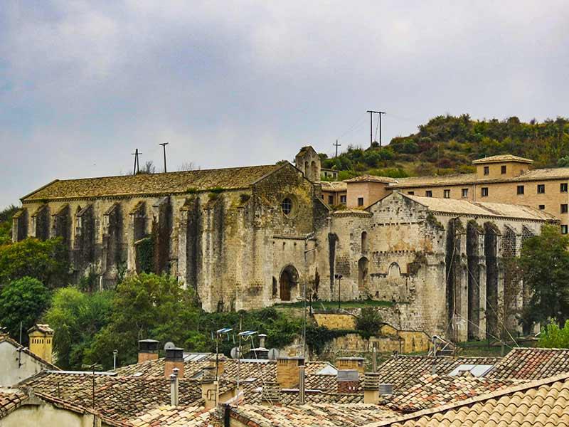 Estella: Iglesia del Santo Sepulcro.