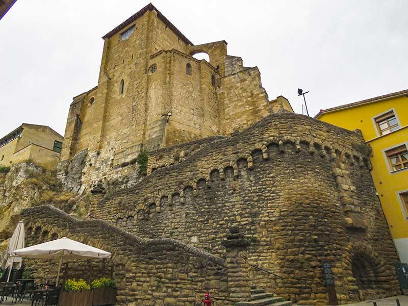 Estella: Iglesia de San Miguel.