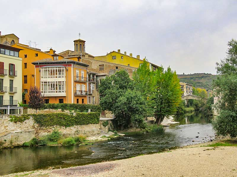 Estella: Puente de la cárcel.