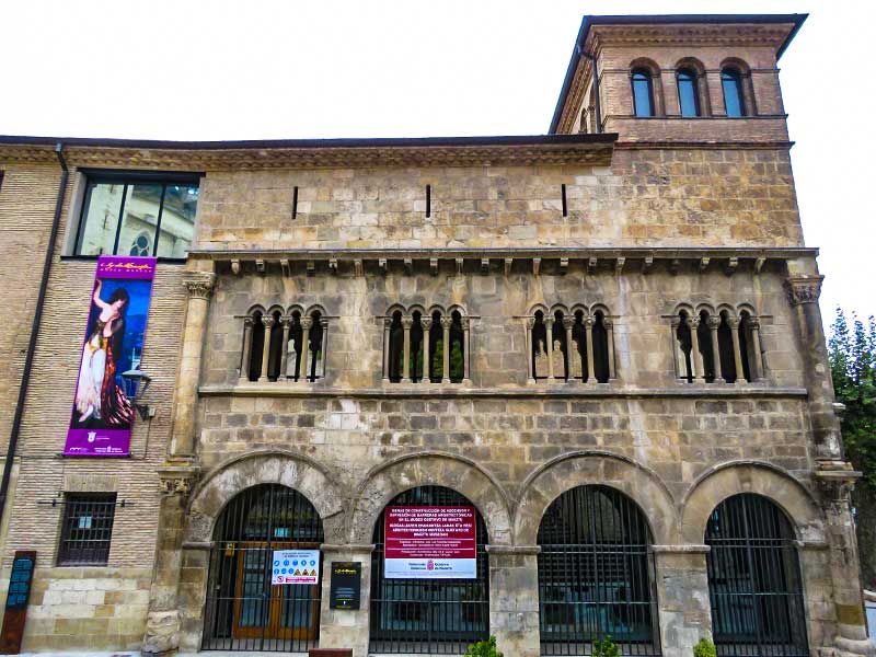 Estella: Palacio de los Reyes de Navarra.