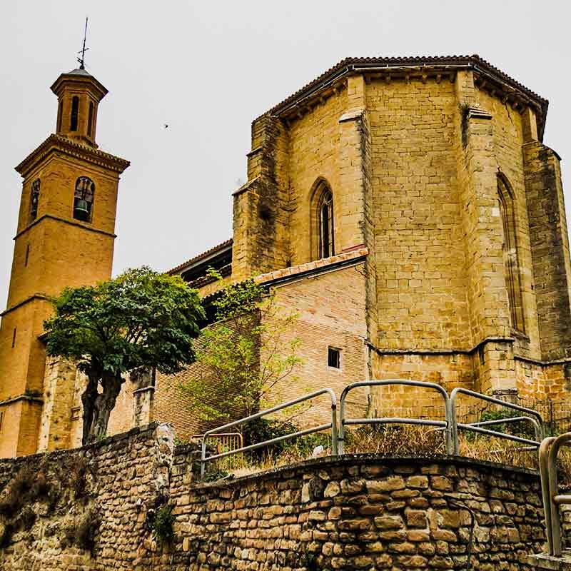 Estella: Iglesia de San Pedro de Lizarra.