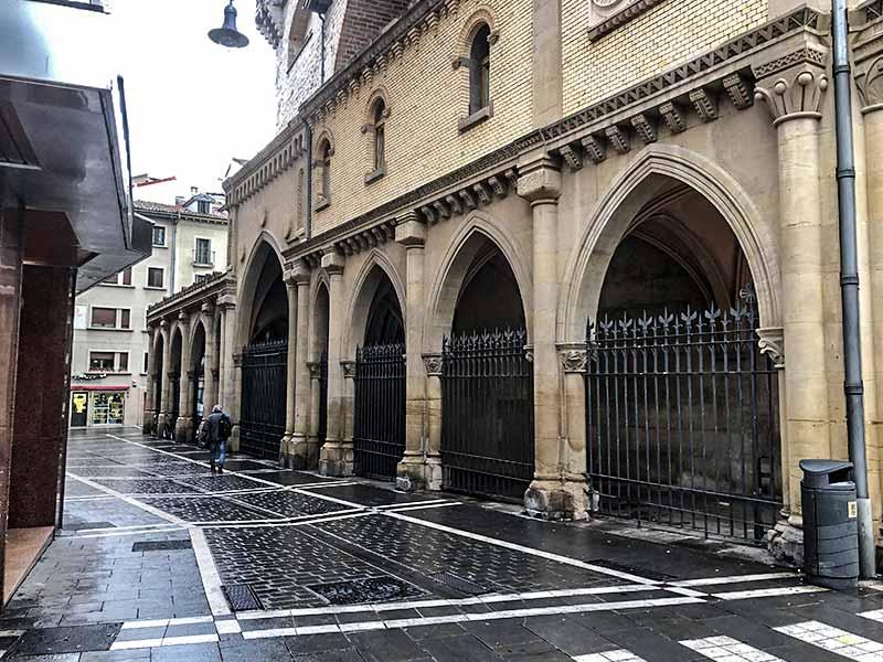 Tirismo en Pamplona: Iglesia de San Nicolás.