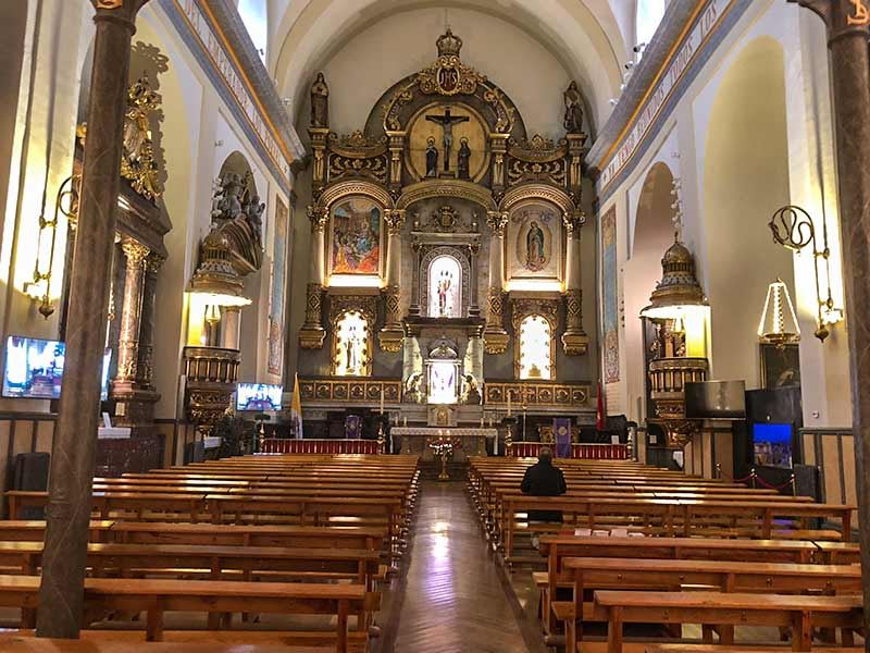 Turismo en Pamplona: Iglesia de San Lorenzo.
