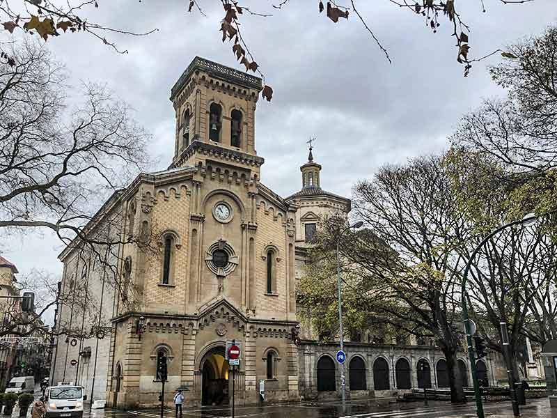 Turismo en Pamplona: Parroquia de San Lorenzo.
