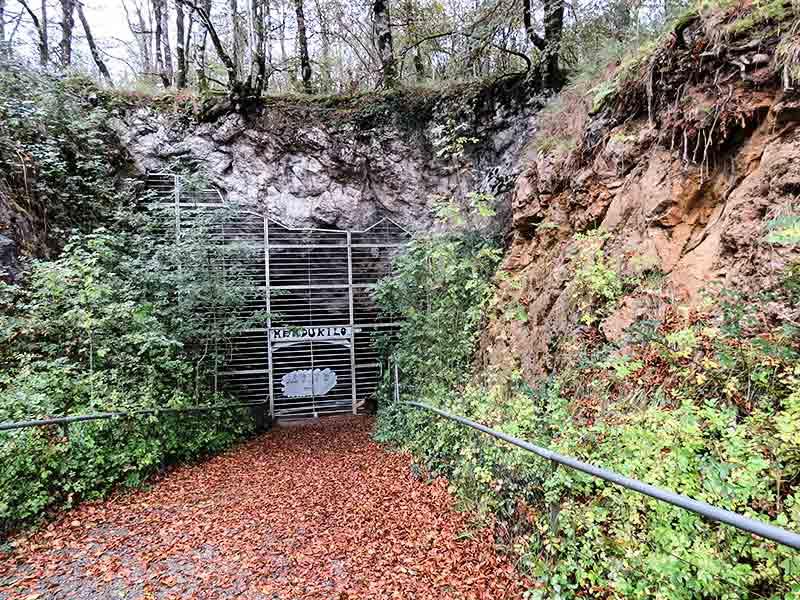 Cuevas de Mendukilo: Norte de Navarra.