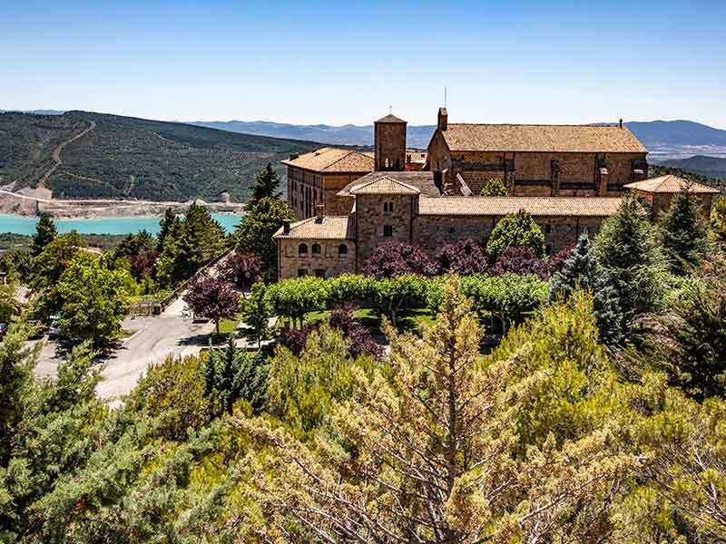 Pamplona y alrededores: Monasterio de Leyre.