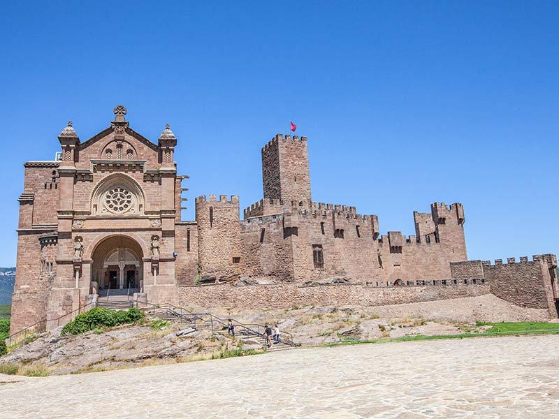 Pamplona y alrededores: Castillo de Javier.