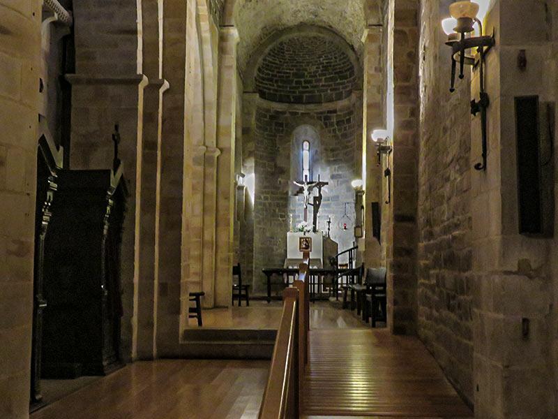 San Miguel de Aralar: Interiores.