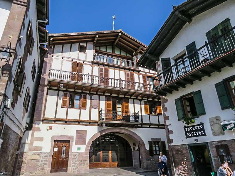 Norte e Navarra: Elizondo.